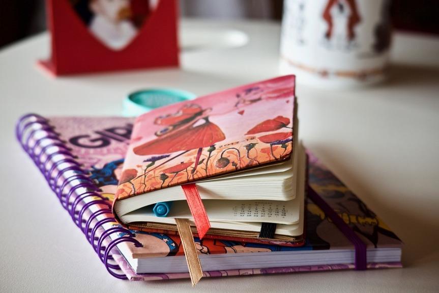 Resgate de textos e lembranças da agenda do ensinofundamental