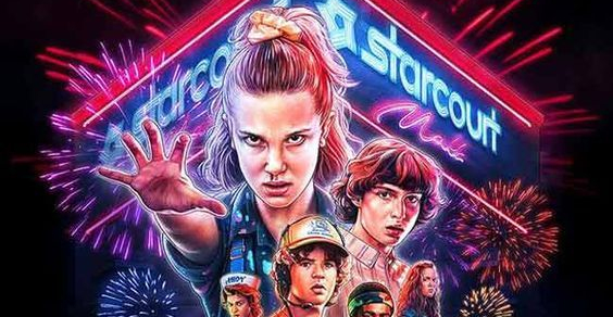 "Terceira Temporada de ""Stranger Things"""